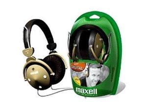 Maxell HP-550F 3.5mm Connector Circumaural Digital Foldable Full Ear Headphones