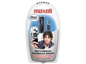 Maxell 190397 Cellphone To Headphone Adapter