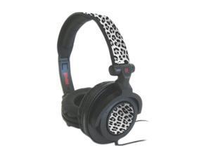 Maxell Black 190227 Circumaural Ampblb Black Leopard Headphones