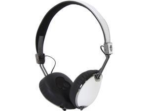 Skullcandy White/Black S5AVDM-074 Navigator Headphones with Mic, White/ Black