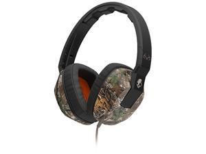 Skullcandy Realtree Dark Tan SGSCFY-325 Crusher Headphones with Built-in Amplifier and Mic
