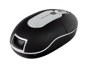 MIZCO IEMMPW Black 3 Buttons 1 x Wheel USB RF Wireless Optical Mini Mouse