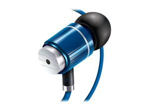 Accessory Power GOgroove AudiOHM BPM Blue 3.5mm Ergonomic Headset GG-AUDIOHMBPM-BLU