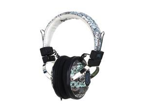 Ecko Ecko Exhibit Graffiti EKU-EXH-GRF On Ear Headphone/Mic - Graffiti