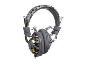 Ecko Ecko Exhibit Gray EKU-EXH-GRY On Ear Headphone/Mic - Grey