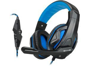 ENHANCE GX-H2 Stereo Gaming Headset with Comfortable Ear Padding and Adjustable Mic