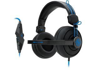 ENHANCE GX-H3 Stereo Gaming Headset with Over-Ear Headphones , Adjustable Mic & In-Line Volume Control