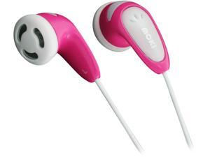Moki Pink ACCHPBHP Volume Limited Kids Earphones - Pink