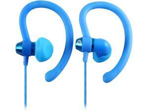 Moki Blue ACCHPS90B 90-degree Sports Earphones - Blue