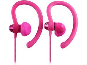 Moki Pink ACCHPS90P 90-degree Sports Earphones - Pink