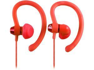 Moki Peach Pink ACCHPS90PH 90-degree Sports Earphones - Peach
