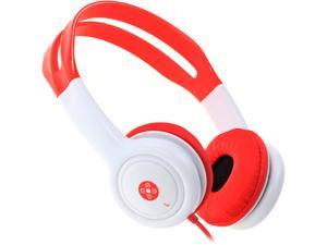 Moki Red ACCHPKR Volume Limited Kids Headphones - Red