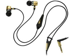 Monster Gold MH TBB-P IE GLD CT In-Ear Turbine Pro Gold Audiophile Headphone with ControlTalk