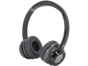 NCredible NTune On-Ear Headphones w/ ControlTalk Universal by Monster - Midnight Black - 128450