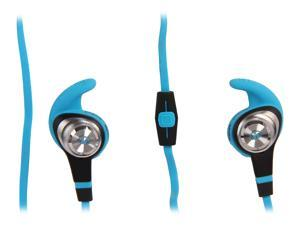 Monster Blue 128954 Earbud iSport Strive In-Ear Headphones, ControlTalk Universal - Strive Blue