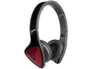DNA On-Ear Headphones by Monster - Black & Red