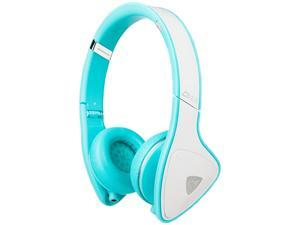 Monster DNA On-Ear Headphones-White/Teal