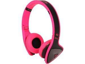 Monster DNA On-Ear Headphones-Black/Laser Pink