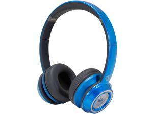 Monster NCredible NTune Candy Blue On-Ear Headphones w/ ControlTalk Universal - 128505