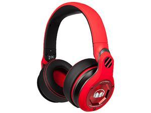 Monster Octagon Over Ear Headphones-Red