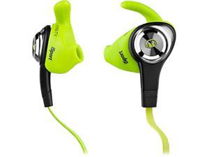 Monster iSport Intensity In-Ear Headphones, Green, 137009-00