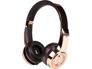 Monster Elements On-Ear Bluetooth Headphones with Controls (Rose Gold)