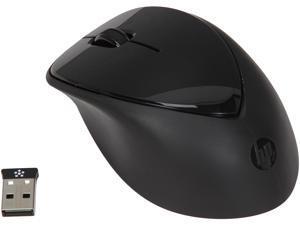 HP x4000 A0X35AA#ABA Black 3 Buttons 1 x Wheel USB RF Wireless Laser Mouse