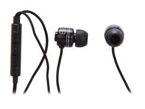 BOOM Commander Black In-Ear Headphone (Black)