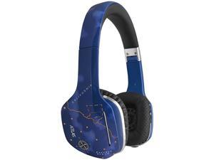MEElectronics Sky HP-ATLAS-SK-MEE Atlas Fantasy IML Graphics On-Ear Headphones with Headset Functionality