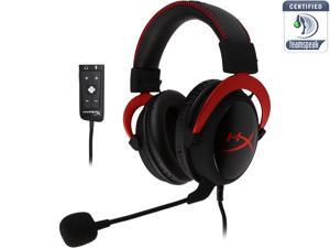 HyperX Cloud II Gaming Headset with 7.1 Virtual Surround Sound for PC/PS4/Mac/Mobile - Red