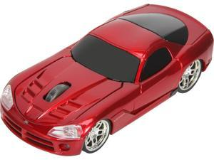 Road Mice Viper SRT10 HP-11DGVSRXA Red 1 x Wheel USB RF Wireless Optical Mouse