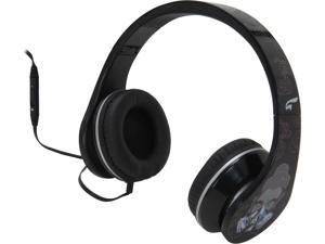 EAGLE TECH Black ET-ARHP300FC-BK 3.5mm Connector Cleansing- Return to innocence headphones (Black)