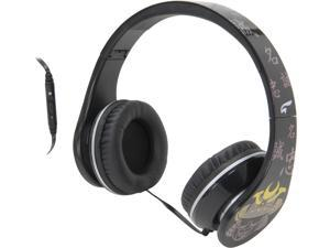 EAGLE TECH Black ET-ARHP300FS-BK Samurai Song-Strength of Character Headphones