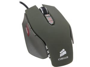 Corsair Vengeance M65 CH-9000024-NA Military Green Wired Laser Gaming Mouse