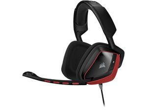 Corsair Gaming VOID Surround Hybrid Stereo Gaming Headset with Dolby 7.1 USB Adapter - Red