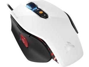 Corsair Gaming M65 PRO RGB FPS Gaming Mouse, Backlit RGB LED, 12000 DPI, Optical, White