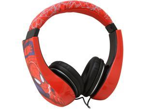 Spiderman 30344-TRU Kid Safe Over the Ear Headphone w/ Volume Limiter