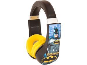 "Sakar 30382 3.5mm (1/8"") Stereo Mini Plug Connector Circumaural Batman Kids Friendly Headphone"