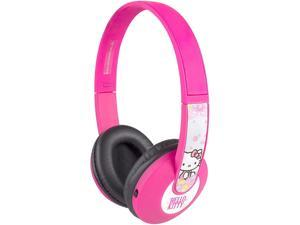 Sakar HP2-06009 Circumaural Kids Bluetooth Kids Safe Headphones Hello Kitty