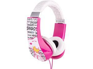 Sakar HP2-03080 Peanuts KIDS FRIENDLY HEADPHONE