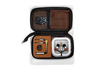 Woodees IESW100TK 3.5mm Connector Canal Headphone Ultimate Travel Kit