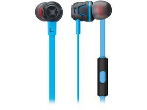 Phiaton Light Blue C450S LIGHT BLUE Extreme Bass Boosting In-Ear Headphones with Microphone