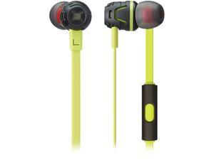 Phiaton Green C450S GREEN Extreme Bass Boosting In-Ear Headphones with Microphone
