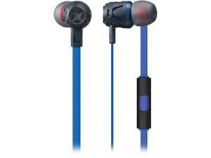 Phiaton Dark Blue C450S DARK BLUE Extreme Bass Boosting In-Ear Headphones with Microphone