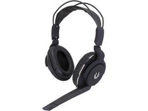 BitFenix Flo Circumaural Headset - Midnight Black