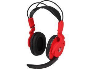 BitFenix Flo Circumaural Headset - Fire Red