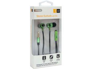 Case Logic Green/Black CL-STHD-804 3.5mm Connector CL Earbuds with Mic WTE PNK