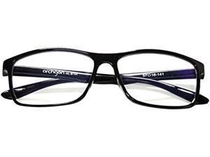 HornetTek Archgon Black Anti Blue-Light Glasses Black Frame