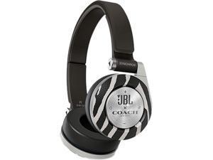 JBL Coach E40BTZBCOACH Limited Edition On-Ear Bluetooth Headphones - White/Black