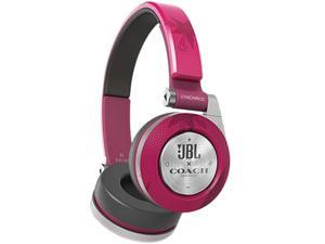 JBL Coach E40BTSSCOACH Limited Edition On-Ear Bluetooth Headphones - Pink
